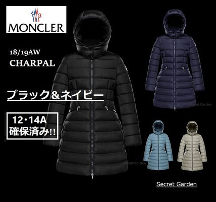 MONCLER キッズアウター 【ブラック12A/14A】確保済み!!大人もOK!!★MONCLER★シャーパル