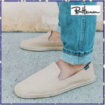 送関込*RonHerman取扱*SOLUDOS★Men's Canvas Smoking Slipper