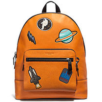 ☆COACH☆WEST BACKPACK WITH SPACE PATCHES
