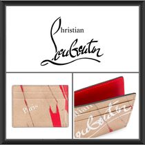 ★Christian Louboutin《PRINTED LEATHER CARDHOLDER》送料込★