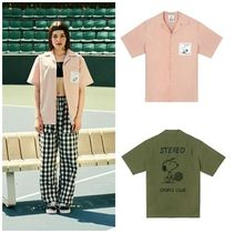 STEREO VINYLSの[SM18 Peanuts] Cotton S/S Shirts 全2色