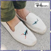 *RonHerman取扱*SOLUDOS★Men's Scuba Shark Smoking Slipper