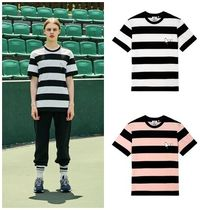 STEREO VINYLSの[SM18 Peanuts] Snoopy Stripe T-Shirts 全2色