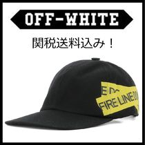 セール!関税送料込★Off-White★FIRE TAPE CAP