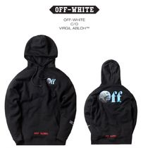 追跡有り配送!Kith Off-White Just Global Hoodie Black