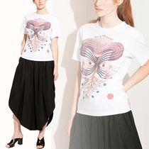 Chloe クロエ White t-shirt with graphic print Tシャツ