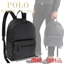 POLO RALPH LAUREN ラルフローレン Pebbled Leather Backpack