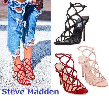 Women's Shoes Steve Madden Womens Teagen Caged Sandal Clothing, Shoes & Accessories