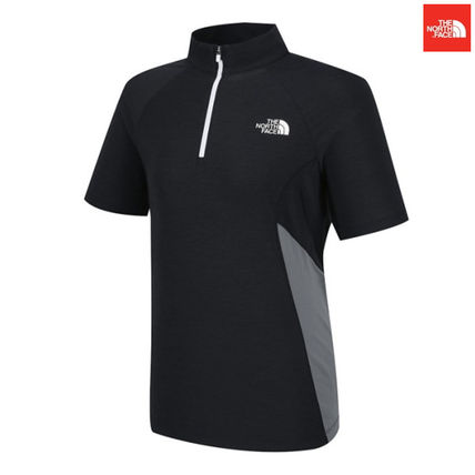THE NORTH FACE Tシャツ・カットソー 【新作】 THE NORTH FACE ★大人気 W'S PROTECTION S/S ZIP TEE