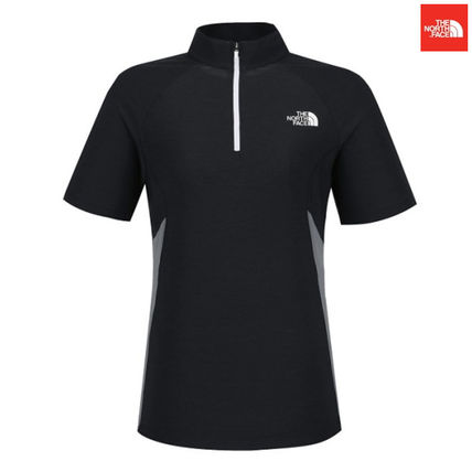 THE NORTH FACE Tシャツ・カットソー 【新作】 THE NORTH FACE ★大人気 W'S PROTECTION S/S ZIP TEE(3)
