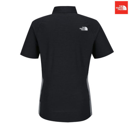 THE NORTH FACE Tシャツ・カットソー 【新作】 THE NORTH FACE ★大人気 W'S PROTECTION S/S ZIP TEE(4)