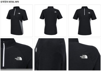 THE NORTH FACE Tシャツ・カットソー 【新作】 THE NORTH FACE ★大人気 W'S PROTECTION S/S ZIP TEE(13)