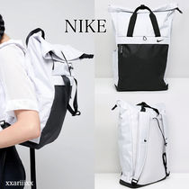 ◆NEW◆NIKE◆ ロゴ ロール トップ バックパック
