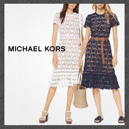MK◆レース◆ワンピ◆Floral Lace Dress