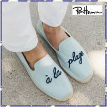 *RonHerman取扱*SOLUDOS★Men's A La Plage Smoking Slipper