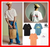 18SS【ANDERSSON BELL】☆UNISEX PALM TREE FLOCKING T-SHIRT☆
