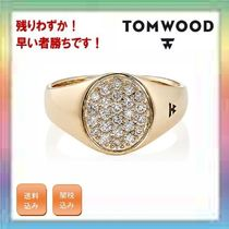 大人気!残りわずか!TOM WOOD Mini Signet Oval Ring