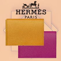 HERMES 2018-19AW Porte-cartes Guernesey 3CC カードケース