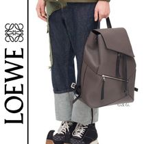 2018AW【LOEWE】2色展開 PUZZLEライン レザー製 バックパック