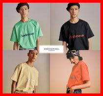 18SS【ANDERSSON BELL】 ★ SIGNATURE EMBROIDERY TEE ★4色★