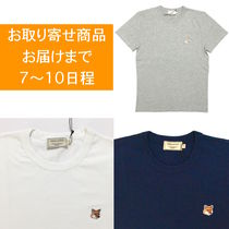 MAISON KITSUNE FOX HEAD PATCH Tシャツ