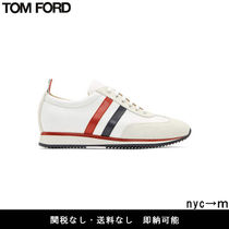 即納国内発送 TOM FORD SUEDE&TECH RUNNING SNEAKERS