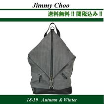 18-19AW★Jimmy Choo(ジミーチュウ)FITZROY BACKPACK