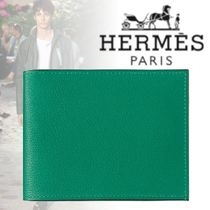 HERMES 2018-19AW Citizen Twill compact 財布 スモール カーフ