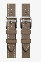 HERMES Apple Watch エルメス Strap Double Buckle Cuff 38 mm