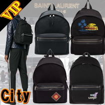 "◆◆VIP◆◆ Saint Laurent ""City"" Canvas Backpack / UNISEX"
