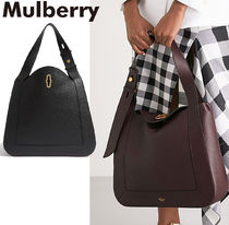 【Mulberry】Marloesグラインドレザーホーボーバッグ 2色