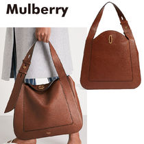 【Mulberry】Marloesグラインドレザーホーボーバッグ