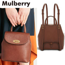 【Mulberry】Mini Bayswaterレザーバックパック