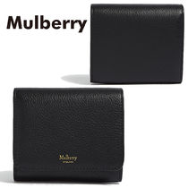 【Mulberry】Grained Leatherスモールコンチネンタルウォレット