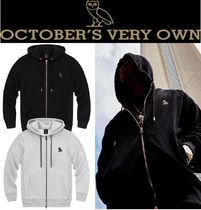 Drakeブランド*OCTOBERS VERY OWN*PATCH ZIP-UP HOODIE