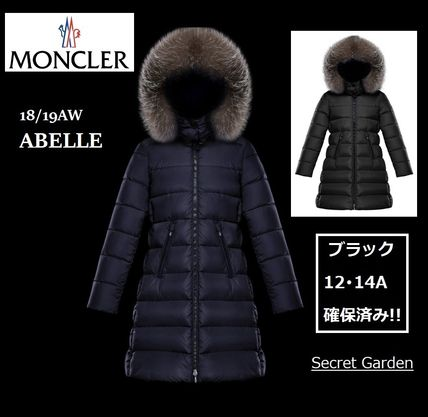 MONCLER キッズアウター 【ブラック12A/14A】確保済み!大人もOK!★MONCLER★全2色ABELLE