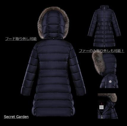 MONCLER キッズアウター 【ブラック12A/14A】確保済み!大人もOK!★MONCLER★全2色ABELLE(2)