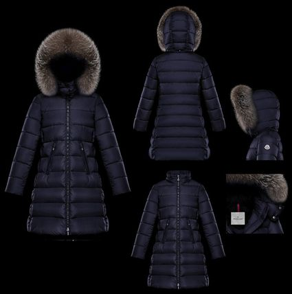 MONCLER キッズアウター 【ブラック12A/14A】確保済み!大人もOK!★MONCLER★全2色ABELLE(3)