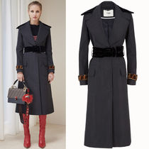 FE2130 COTTON DRILL TRENCH COAT
