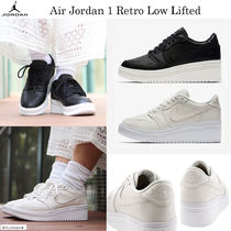 最新☆話題沸騰中☆Air Jordan 1 Retro Low Lifted☆選べる2色☆