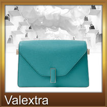 知的で上品!Valextra☆ISIDE  CROSSBODY BAG WITH CHAIN