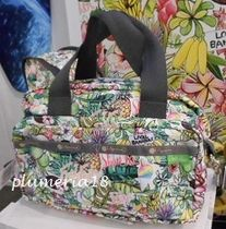 【DFS限定】LeSportsac-Med Two Zip Crossbody☆Aloha Market