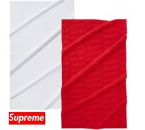 ★ Supreme ★ Debossed Logo Beach Towel  18 SS WEEK 20