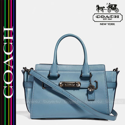 COACH★SWAGGER 27 WITH TEA ROSE DETAIL 29460