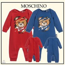 Moschino☆BABY テディベイグロー red/blue 1-12M