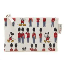 Cath Kidston(キャスキッドソン) メイクポーチ キャスキッドソン ポーチ 734547 Ivory Mickey and Guards
