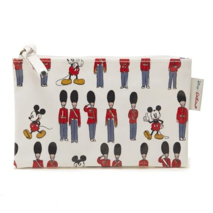 Cath Kidston メイクポーチ キャスキッドソン ポーチ 734547 Ivory Mickey and Guards
