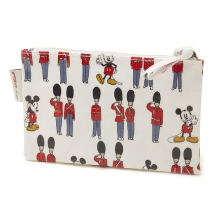 Cath Kidston メイクポーチ キャスキッドソン ポーチ 734547 Ivory Mickey and Guards(2)