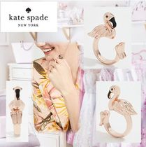 【kate spade】☆3Dフラミンゴリング☆安心国内発送