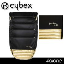 CYBEX BY JEREMY SCOTT☆BLACK & GOLD PRIAM フットマフ